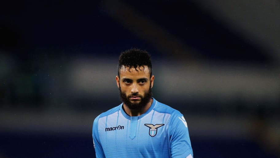 ROME, ITALY - FEBRUARY 29:  Felipe Anderson of SS Lazio looks on during the Serie A match between SS Lazio and US Sassuolo Calcio at Stadio Olimpico on February 29, 2016 in Rome, Italy.  (Photo by Paolo Bruno/Getty Images)