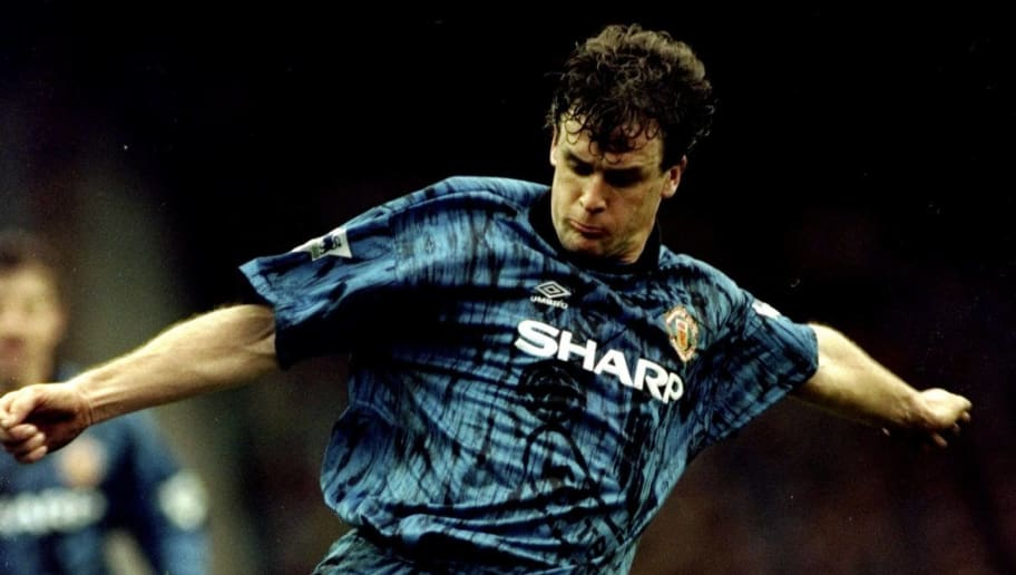 476970ea367 Undated: Mark Hughes of Manchester United in action during an FA Carling  Premiership match against