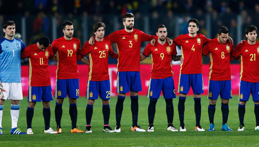 bbef5236293 Host of Premier League Stars Excluded From Spain s Provisional Euro 2016  Squad