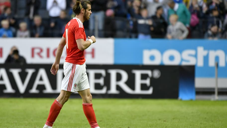 SOLNA, SWEDEN - JUNE 05: Gareth Bale of Wales after the international friendly between Sweden and Wales at Friends Arena on June 5, 2016 in Solna, Sweden. (Photo by Mikael Sjoberg/Ombrello/Getty Images)