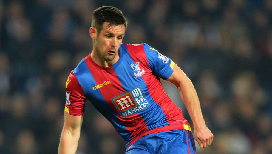 WEST BROMWICH, ENGLAND - FEBRUARY 27:  Scott Dann of Crystal Palace during the Barclays Premier League match between West Bromwich Albion and Crystal Palace at The Hawthorns on February 27, 2016 in West Bromwich, United Kingdom.  (Photo by Tony Marshall/Getty Images)