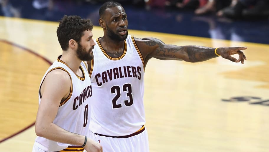 17cc0c103e3b 6 Most Awkward Moments Between LeBron James and Kevin Love