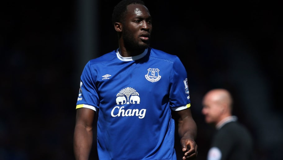 LIVERPOOL, UNITED KINGDOM - MAY 15: Romelu Lukaku of Everton during the Barclays Premier League match between Everton and Norwich City at Goodison Park on May 15, 2016 in Liverpool, England. (Photo by Jan Kruger/Getty Images)