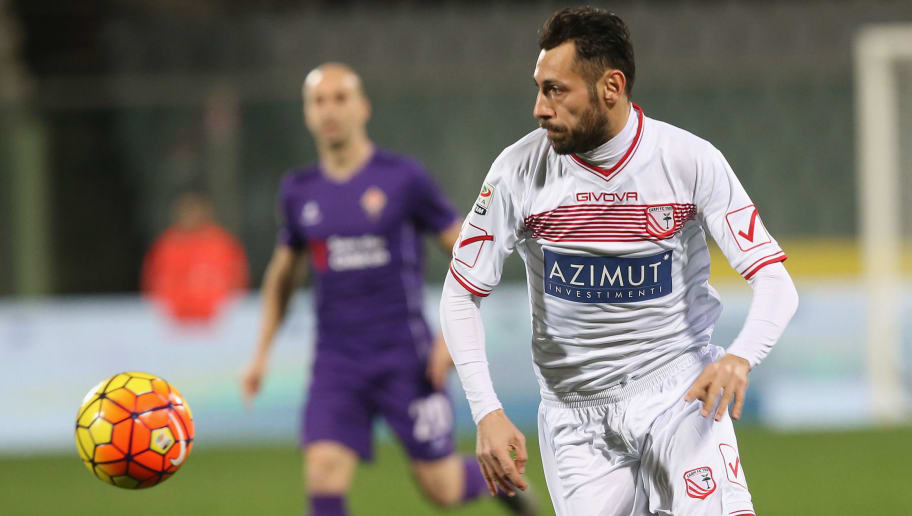 FLORENCE, ITALY - FEBRUARY 03:  Matteo Mancosu of Carpi during the Serie A match between ACF Fiorentina and Carpi FC at Stadio Artemio Franchi on February 3, 2016 in Florence, Italy.  (Photo by Maurizio Lagana/Getty Images)
