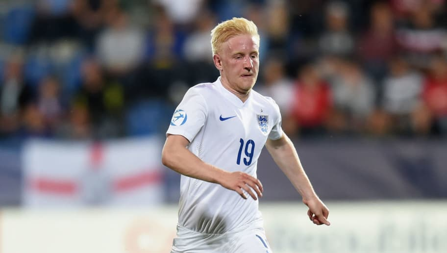 UHERSKE HRADISTE, CZECH REPUBLIC - JUNE 18: Will Hughes of England action during the UEFA Under21 European Championship 2015 Group B match between England and Portugal at Mestsky Fotbalovy Stadium on June 18, 2015 in Uherske Hradiste, Czech Republic.  (Photo by Michael Regan/Getty Images)