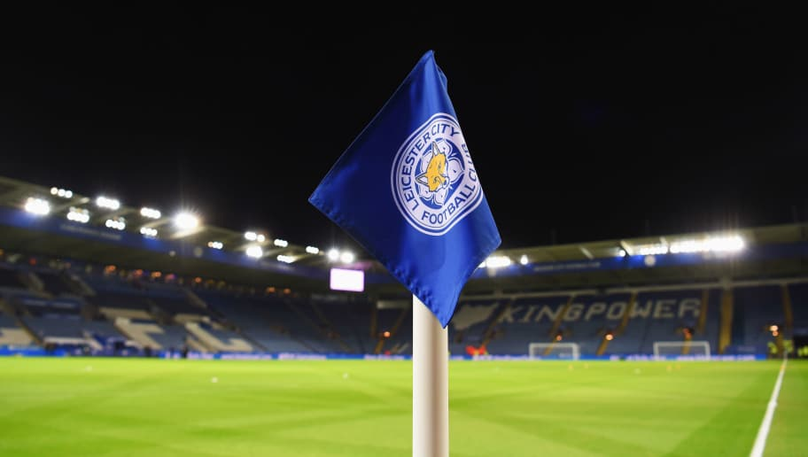 LEICESTER, ENGLAND - DECEMBER 29:  A view of a corner flag and stadium prior to the Barclays Premier League match between Leicester City and Manchester City at The King Power Stadium on December 29, 2015 in Leicester, England.  (Photo by Michael Regan/Getty Images)