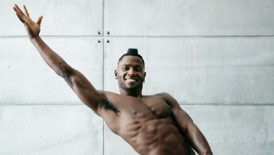 REVEALED: Antonio Browns ESPN Body Issue Photos Finally