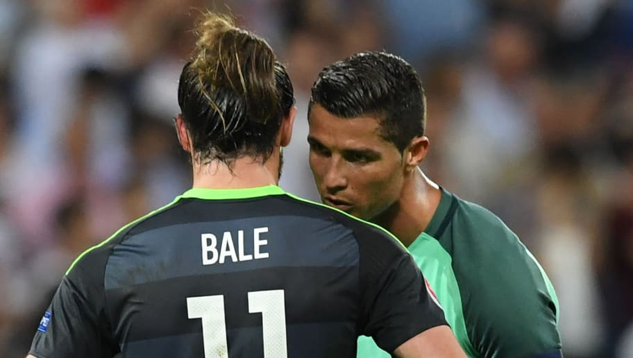 VIDEO: Cristiano Ronaldo Consoles Real Madrid Teammate Gareth Bale