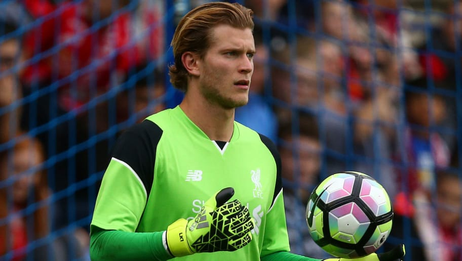 BIRKENHEAD, ENGLAND - JULY 08: Loris Karius of Liverpool during the Pre-Season Friendly match between Tranmere Rovers and Liverpool at Prenton Park on July 8, 2016 in Birkenhead, England. (Photo by Dave Thompson/Getty Images)