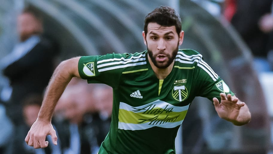 COLUMBUS, OH - DECEMBER 6:  Diego Valeri #8 of the Portland Timbers controls the ball against the Columbus Crew SC on December 6, 2015 at MAPFRE Stadium in Columbus, Ohio. Portland defeated Columbus 2-1 to take the MLS Cup title.  (Photo by Jamie Sabau/Getty Images)
