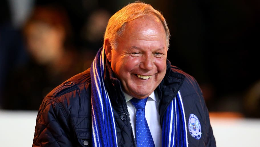 PETERBOROUGH, ENGLAND - OCTOBER 22:  Barry Fry, Director of Football of Peterborough United looks on before the Sky Bet League One match between Peterborough United and Sheffield United at London Road Stadium on October 22, 2013 in Peterborough, England, (Photo by Julian Finney/Getty Images)