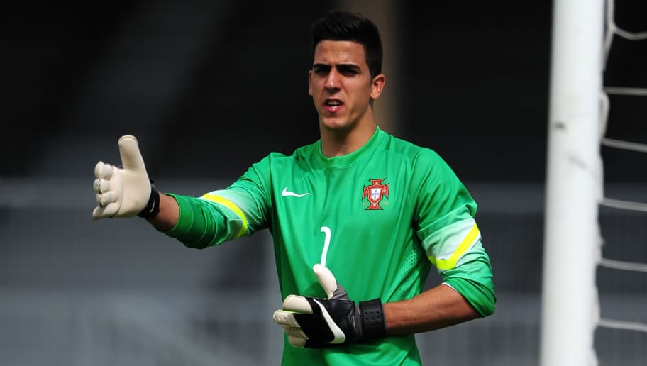 AVIGNON, FRANCE - MAY 29: Joel Pereira of Portugal during the 3rd/4th Playoff in the Toulon Tournament match between Portugal and Czech Republic at Parc Des Sports on May 29, 2016 in Avignon, France. (Photo by Harry Trump/Getty Images)