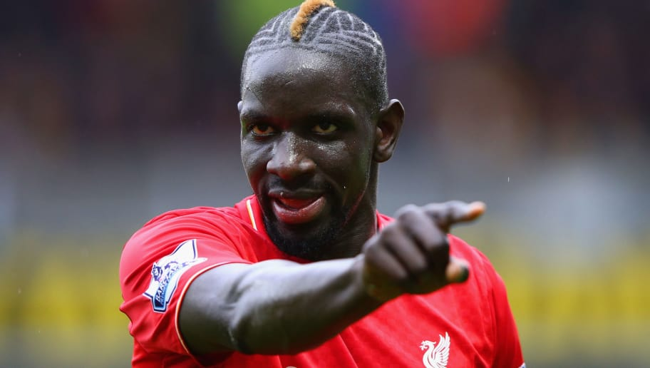 WATFORD, ENGLAND - DECEMBER 20:  Mamadou Sakho of Liverpool points during the Barclays Premier League match between Watford and Liverpool at Vicarage Road on December 20, 2015 in Watford, England.  (Photo by Ian Walton/Getty Images)