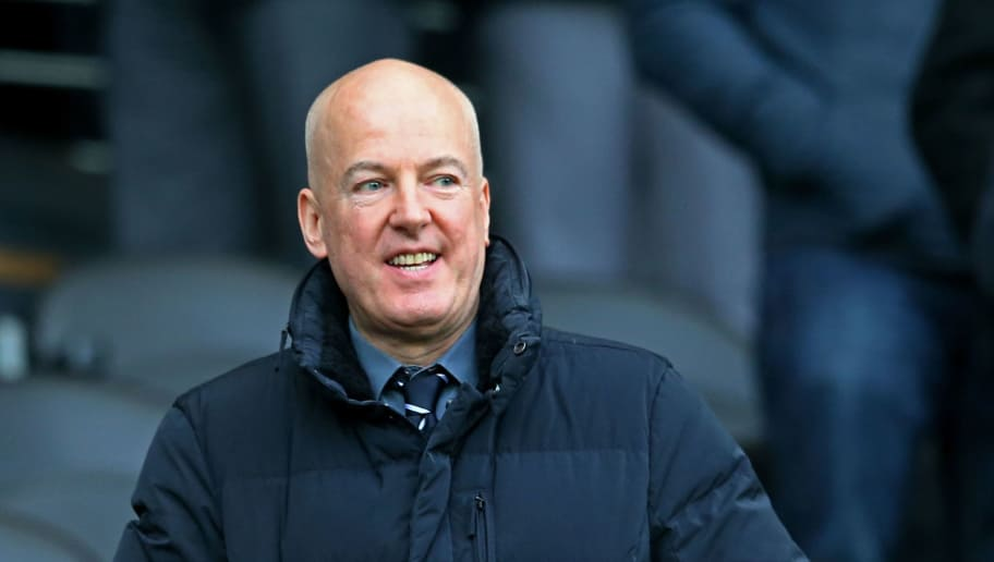 HULL, ENGLAND - DECEMBER 06:  Jeremy Peace the West Bromwich Albion Chairman looks on during the Barclays Premier League match between Hull City and West Bromwich Albion at the KC Stadium on December 6, 2014 in Hull, England.  (Photo by Matthew Lewis/Getty Images)
