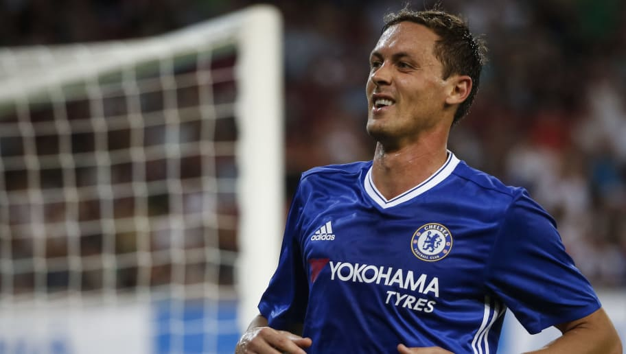 VELDEN, AUSTRIA - JULY 20: Nemanja Matic of Chelsea reacts during the friendly match between WAC RZ Pellets and Chelsea F.C. at Worthersee Stadion on July 20, 2016 in Velden, Austria. (Photo by Srdjan Stevanovic/Getty Images)