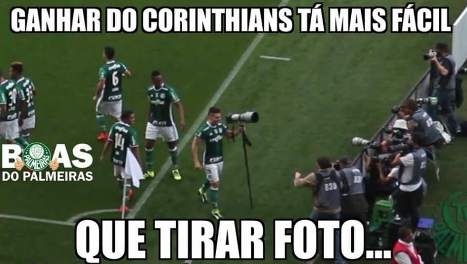 Os 12 melhores memes da vitória do Palmeiras sobre o Corinthians  4dc878d0ae862