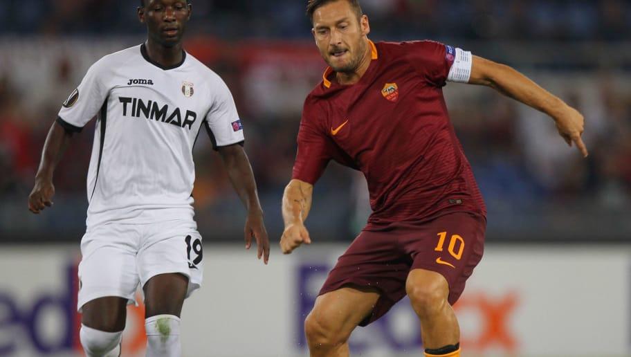 c72ab301fd PAGELLE | Roma - Astra Giurgiu 4-0, i voti della formazione di Luciano  Spalletti | 90min
