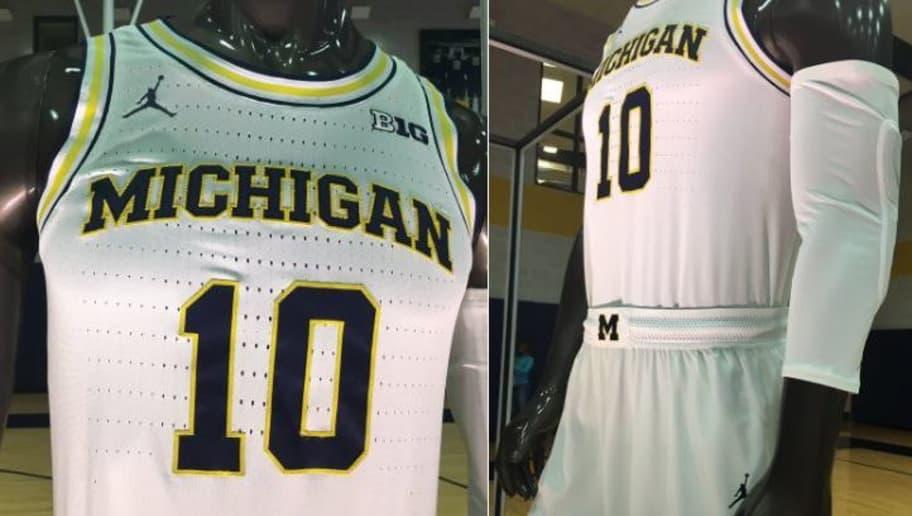 Michigan Basketball Unveils Sick New Air Jordan Uniforms  02bd394a4