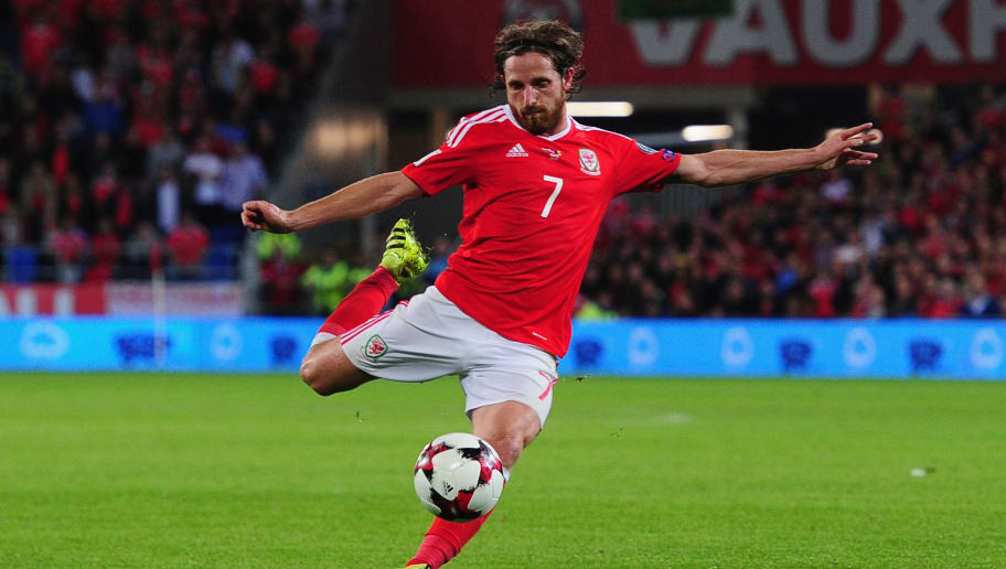 Stoke Star Joe Allen Set to Miss Wales' Clash With Georgia After Suffering  Hamstring Injury   90min