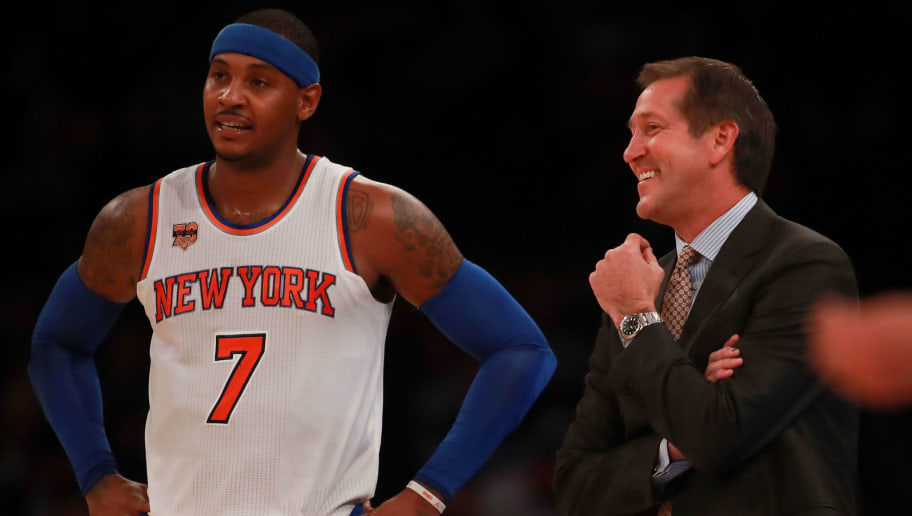 37b6b246d86 Carmelo Anthony has Ridiculous Request for Derrick Rose