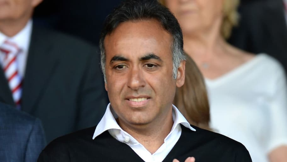 NOTTINGHAM, ENGLAND - AUGUST 09:  Fawaz Al Hasawi, Chairman of Nottingham Forest during the Sky Bet Championship match between Nottingham Forest and Blackpool at City Ground on August 9, 2014 in Nottingham, England.  (Photo by Tony Marshall/Getty Images)