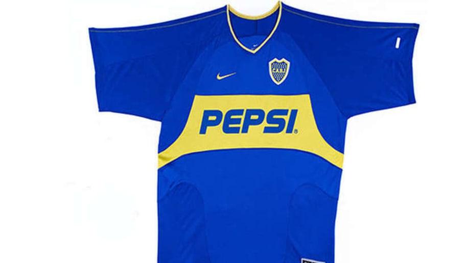 Tras varios años con Quilmes como sponsor en el centro de la camiseta 2d488fd13f1