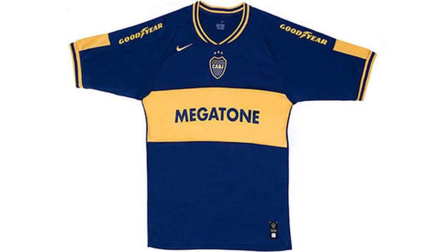 Las camisetas que usó Boca en los últimos 20 años  aab3178b5a6