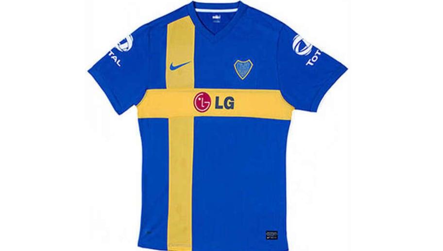 El sponsor principal que vistió a Boca desde hace varios años 57e8cc8ef88