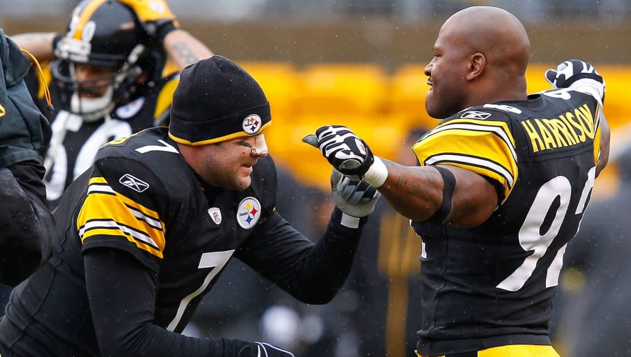 383f2e792 Ben Roethlisberger and James Harrison Blast Steelers After Loss