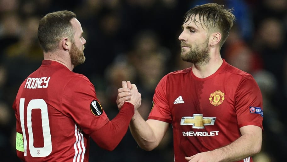 Manchester United Left-Back Luke Shaw Reveals Surprising Choice for ... aa2b76743c5a