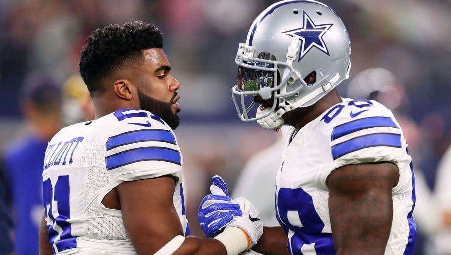 Ezekiel Elliott And Dez Bryant Tie Cowboys Legends In