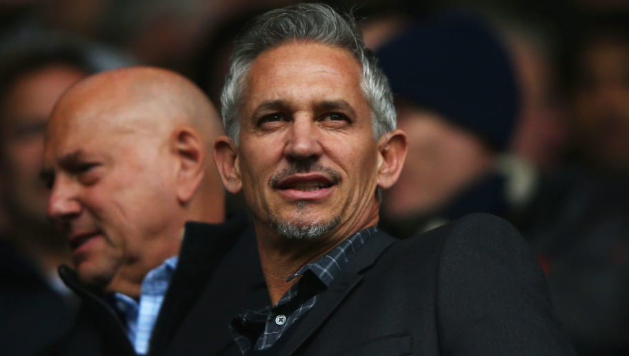 LONDON, ENGLAND - APRIL 10:  Ex-Spurs player Gary Lineker looks on prior to the Barclays Premier League match between Tottenham Hotspur and Manchester United at White Hart Lane on April 10, 2016 in London, England.  (Photo by Ian Walton/Getty Images)