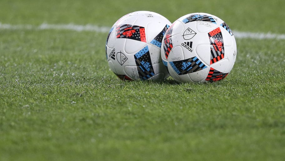 TORONTO, ONTARIO - DECEMBER 10:  Soccer balls wait prior to action between the Seattle Sounders and the Toronto FC in the 2016 MLS Cup at BMO Field on December 10, 2016 in Toronto, Ontario, Canada. Seattle defeated Toronto in the 6th round of extra time penalty kicks. (Photo: Claus Andersen/Getty Images)