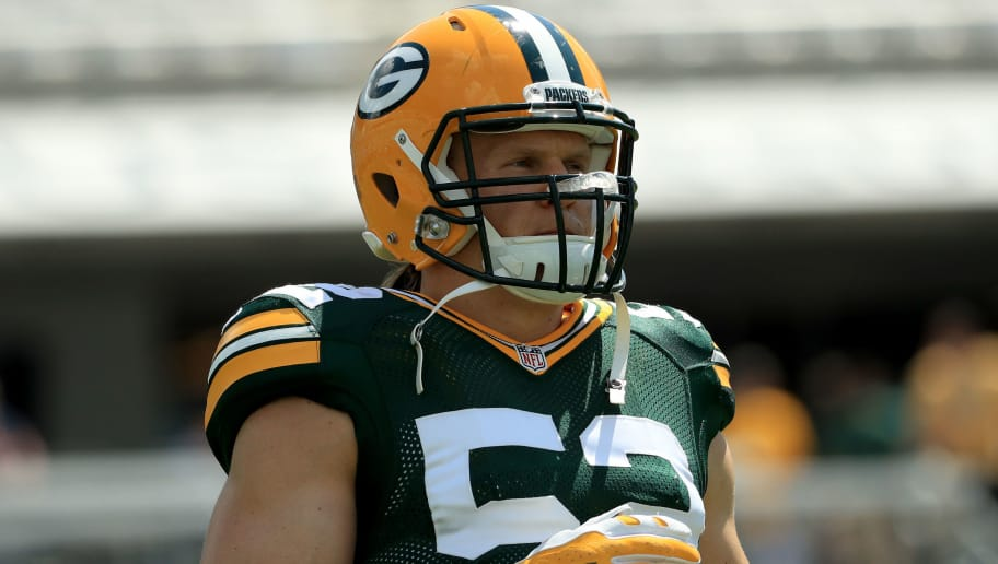 8027d1bdc6b Clay Matthews Says He s Making Strides in His Recovery From Shoulder Injury