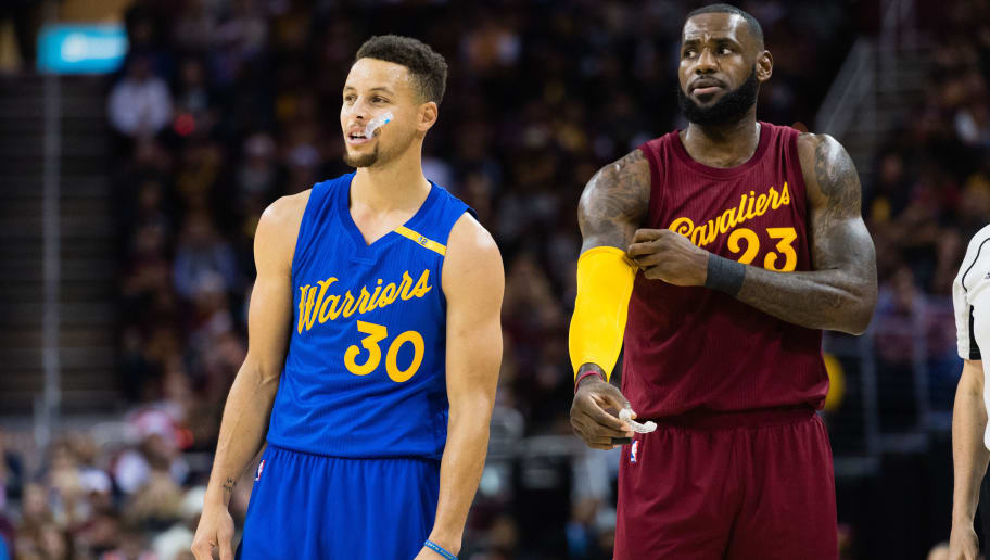 48c6578bd47 LeBron James Had a Steph Curry Dummy at His Halloween Party