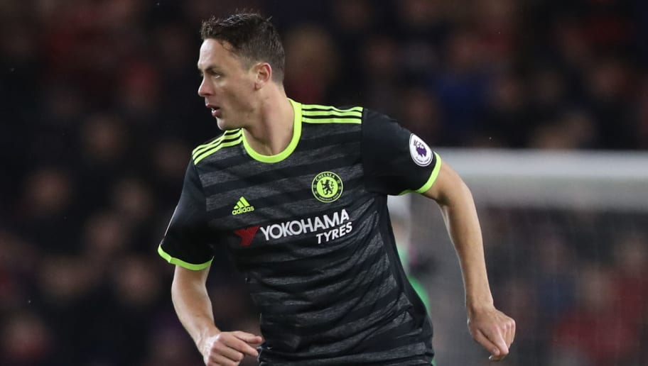 MIDDLESBROUGH, ENGLAND - NOVEMBER 20:  Nemanja Matic of Chelsea controls the ball during the Premier League match between Middlesbrough and Chelsea at Riverside Stadium on November 20, 2016 in Middlesbrough, England. (Photo by Ian MacNicol/Getty Images)