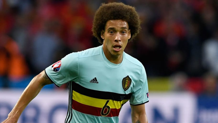 LILLE, FRANCE - JULY 01:  Belgium player Axel Witsel in action during the UEFA Euro 2016 Quarter Final match between Wales and Belgium at Stade Pierre-Mauroy on July 1, 2016 in Lille, France.  (Photo by Stu Forster/Getty Images)