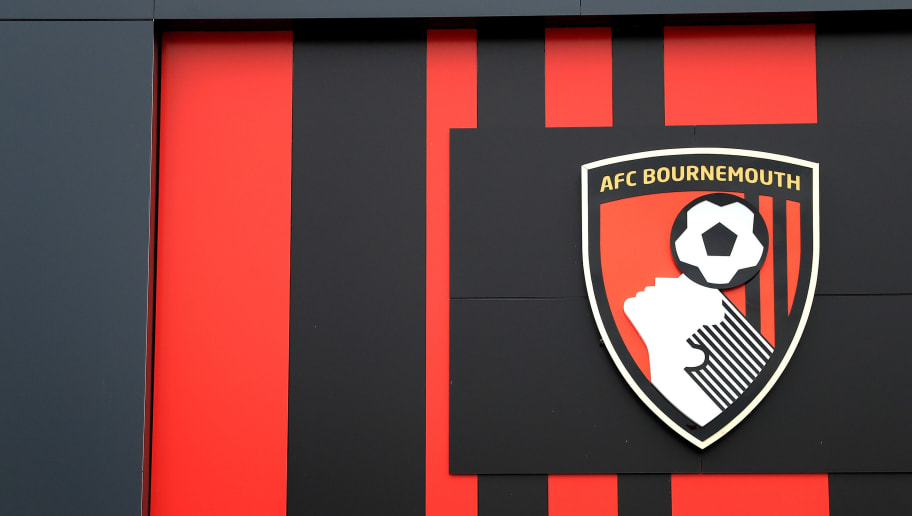BOURNEMOUTH, ENGLAND - JANUARY 21: General view of the AFC Bournemouth logo outside the stadium prior to the Premier League match between AFC Bournemouth and Watford at Vitality Stadium on January 21, 2017 in Bournemouth, England.  (Photo by Richard Heathcote/Getty Images)