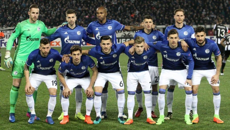 Schalke Team