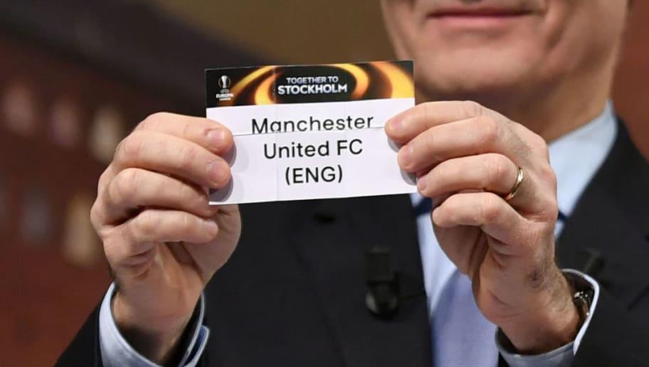 Europa League Draw: Man Utd Handed Tough Tie as Roma, Ajax, Lyon ...