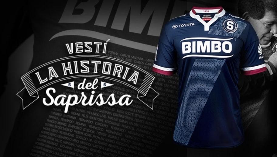 33e2c2e58b A vencedora foi a camisa 3 do Deportivo Saprissa. A camisa conta até com  uma faixa contendo os nomes de todos os 469 jogadores que jogaram no clube  desde ...