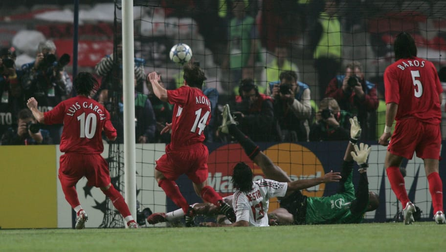 Xabi Alonso Wasn't Allowed to Participate in Penalty Shootout Against Milan  Despite Scoring Earlier | 90min