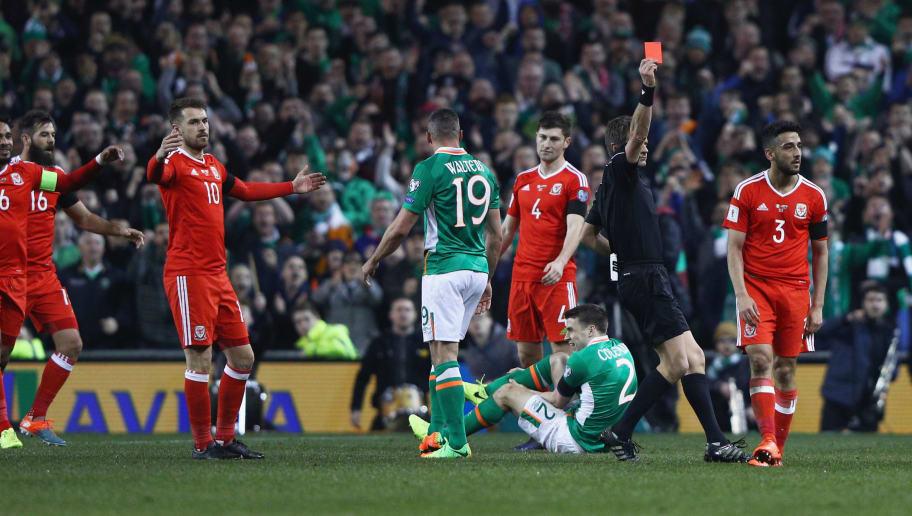 GRAPHIC VIDEO: Everton's Seamus Coleman Suffers Horrific Leg