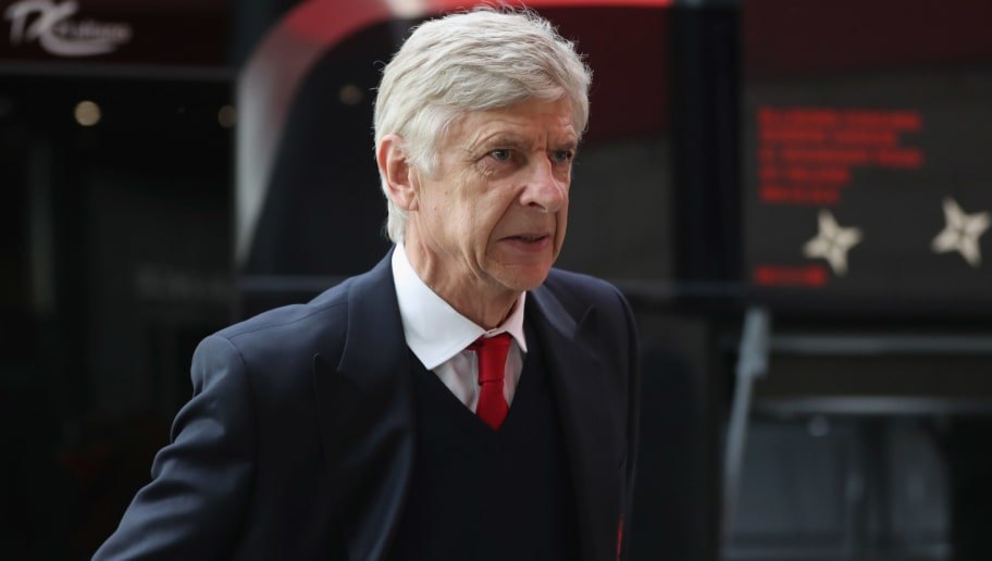 MIDDLESBROUGH, ENGLAND - APRIL 17:  Arsene Wenger manager of Arsenal arrives prior to the Premier League match between Middlesbrough and Arsenal at Riverside Stadium on April 17, 2017 in Middlesbrough, England.  (Photo by Ian MacNicol/Getty Images)