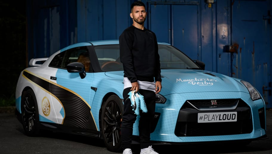 website for discount great prices pretty nice PUMA Surprise Sergio Aguero With Special Manchester Derby ...
