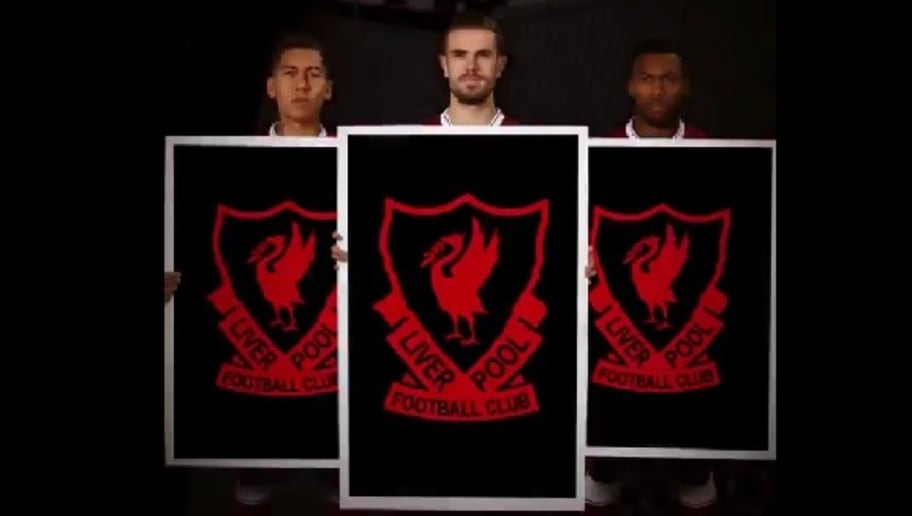 3ffb70a36 Liverpool Tease Reveal of 17 18 Home Kit   125th Anniversary Club Crest  Ahead of Official Unveiling