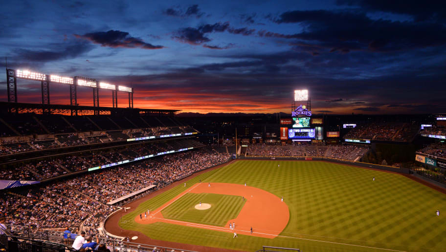 DENVER, CO - SEPTEMBER 7:  A general view of Coors Field during the Colorado Rockies v the San Francisco Giants at Coors Field on September 7, 2016 in Denver, Colorado.  (Photo by Bart Young/Getty Images)