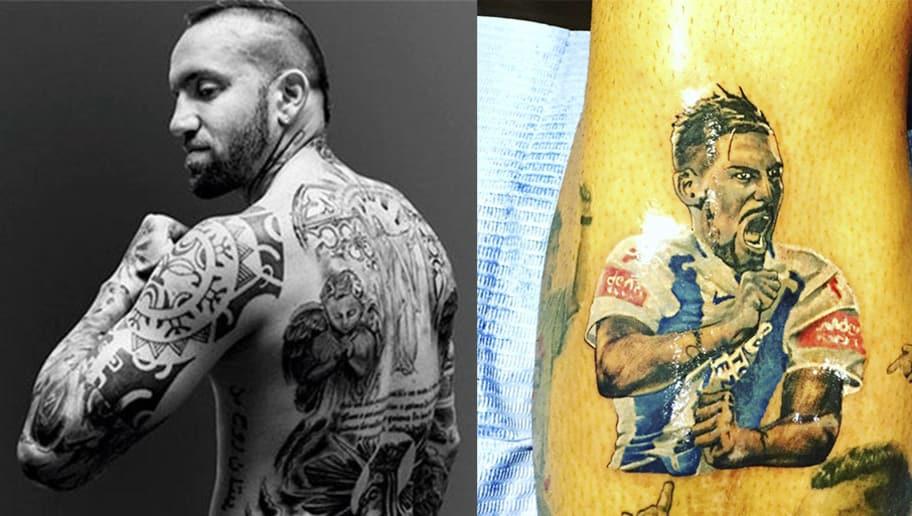 Espectaculares Los 7 Mejores Tatuajes De Futbolistas En La Liga Mx