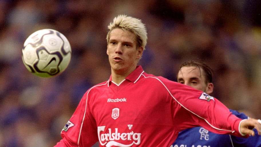 1 Oct 2000:  Christian Ziege of Liverpool controls the ball during the FA Carling Premiership match against Chelsea at Stamford Brdge, in London. Chelsea won the match 3-0. \ Mandatory Credit: Ben Radford /Allsport