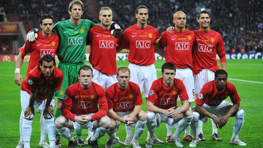 Where Are They Now Manchester United Champions League Final 2008 Starting Xi 90min